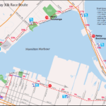 Around the Bay 30k course map